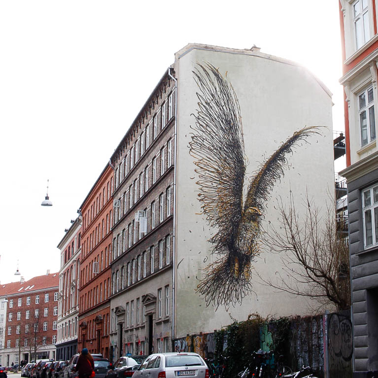 Graffiti, Vestebro, Vesterbrogade, København V, Denmark
