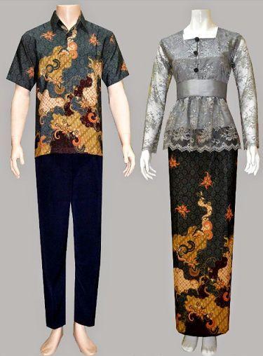 20 Model Baju Batik Kombinasi Brokat 025a89642e