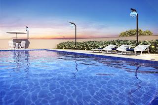 apartamento com piscina em pirituba