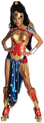 Women's Anime - Wonder Woman Adult Costume for Halloween