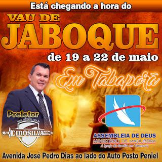 Vau de Jaboque em Tabaporã - Pregador e conferencista Pb. Cido Silva
