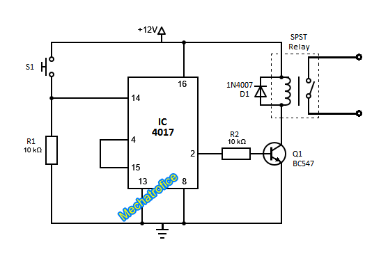 toggle switch circuit diagram ireleast info toggle switch circuit diagram the wiring diagram wiring circuit