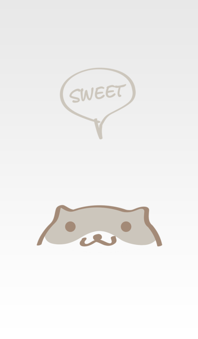 Cute hamster simple theme