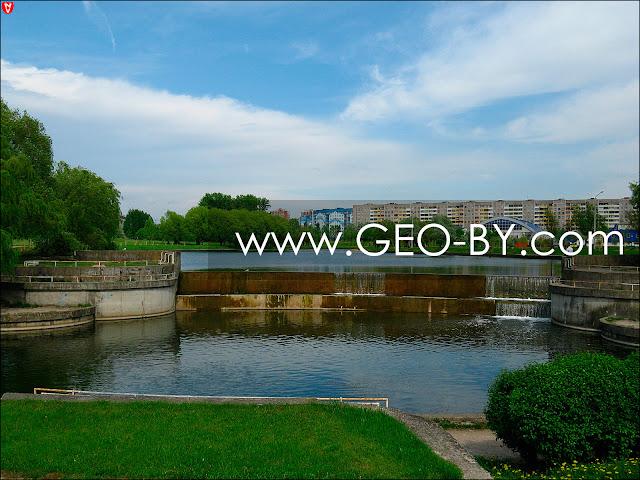 Минск. Плотина на Слепянской водной системе