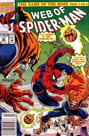 Web of Spider-Man #86 comic