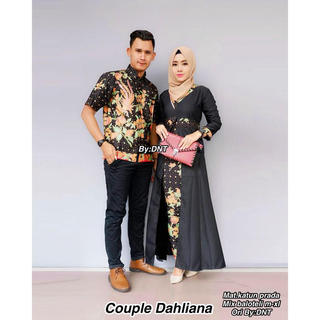 Batik Couple Dahliana