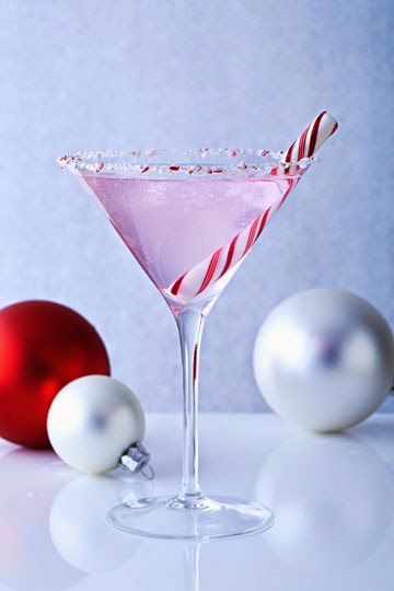holiday peppermint martini | Skinnygirl Cocktails