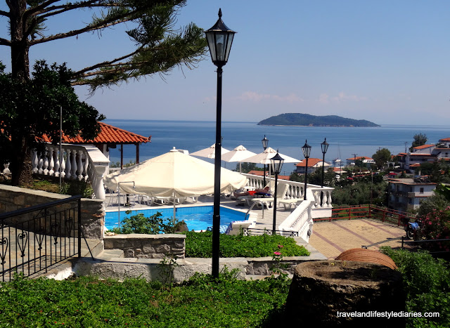 Our Homebase in Skiathos Island, Greece: Fengeros Village