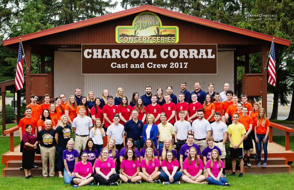 Charcoal Corral<br>(5 Minutes)