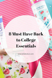 8 Must Have College Beauty Essentials