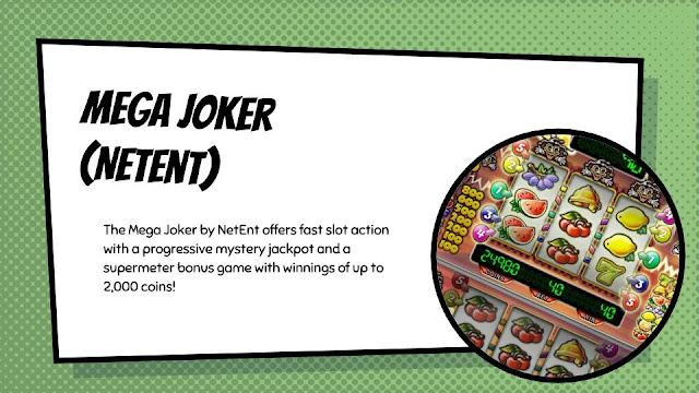 Mega Joker free classic slot by NetEnt