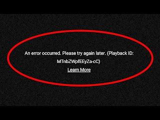 Kenapa Youtube Error ? Inilah Penyebabnya