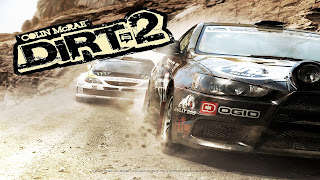 Colin McRae: DiRT 2 Cover Background