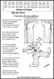 Poema o sorriso de um palhaço