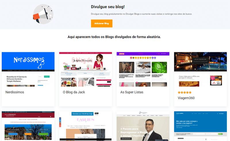 Conheça um diretório de blogs e aprenda a divulgar o seu de graça