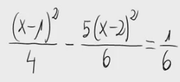 19. Ecuación de segundo grado (fracción)