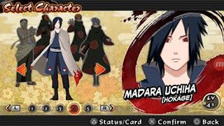 Texture Naruto Impact: Madara Uchiha Hokage for PSP Android