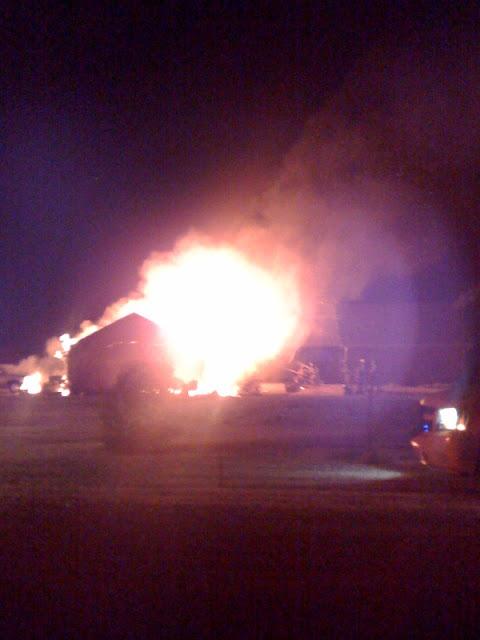 Hunter House Fire
