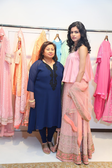 Designer Sumona Parekh hosted an evening for preview of Nawabi Collection