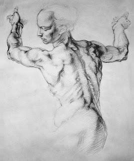 Cuerpos de Dibujos Desnudos Lapiz