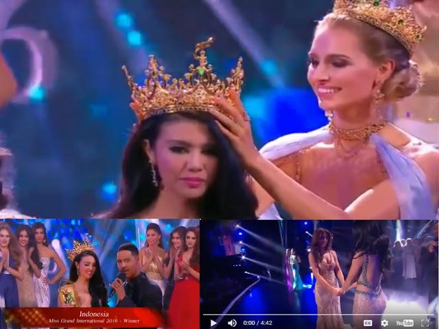 Mahasiswi Universitas Islam Sumatera Utara (UISU), Kota Medan Menjadi Pemenang Ajang Miss Grand International 2016 Di Las Vegas.