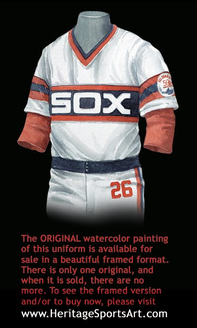 official photos 59d0a 2325d Chicago White Sox Uniform and Team History | Heritage ...