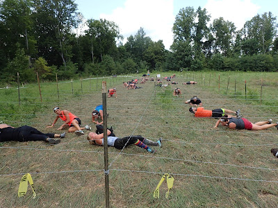 Spartan Race Barbwire Crawl