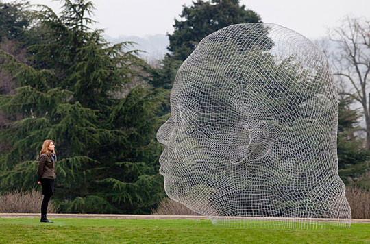 wireframe sculpture