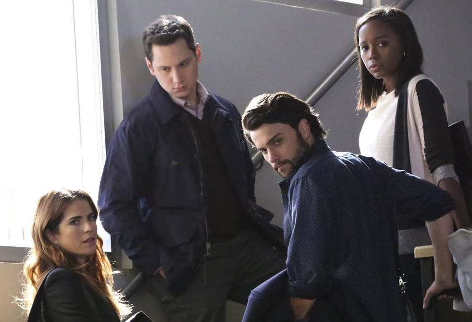 How to Get Away with Murder 3x06 HTGAWM Is Someone Really Dead Laurel Asher Connor Michaela
