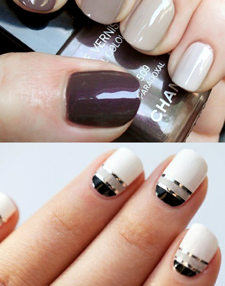 Fashion Nail Trend: TREND IN FASHION: Nail Polish An Elegant Minimal Fashion