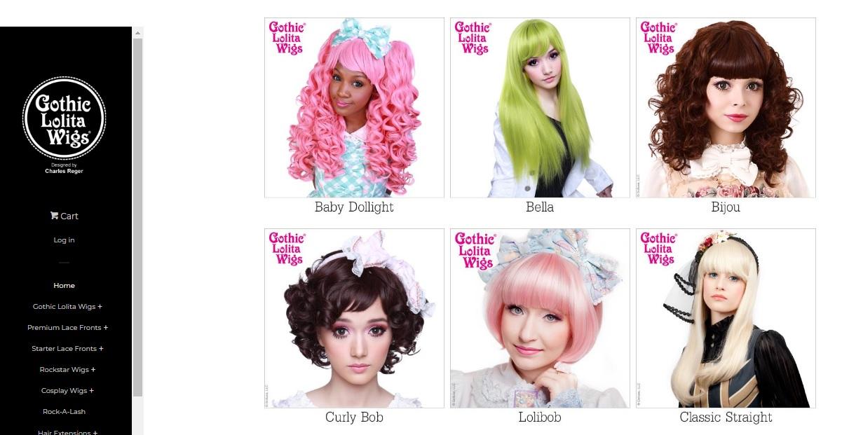 Gotihc Lolita Wigs