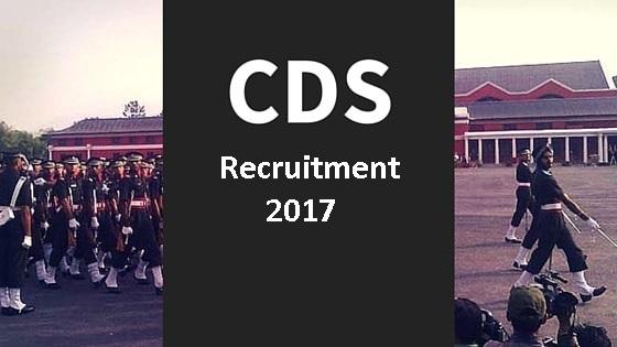 cds recruitment 2017