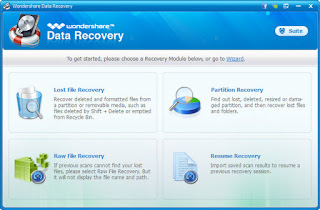 Wondershare Data Recovery 5.0.3.13 Multilingual Full Serial Key