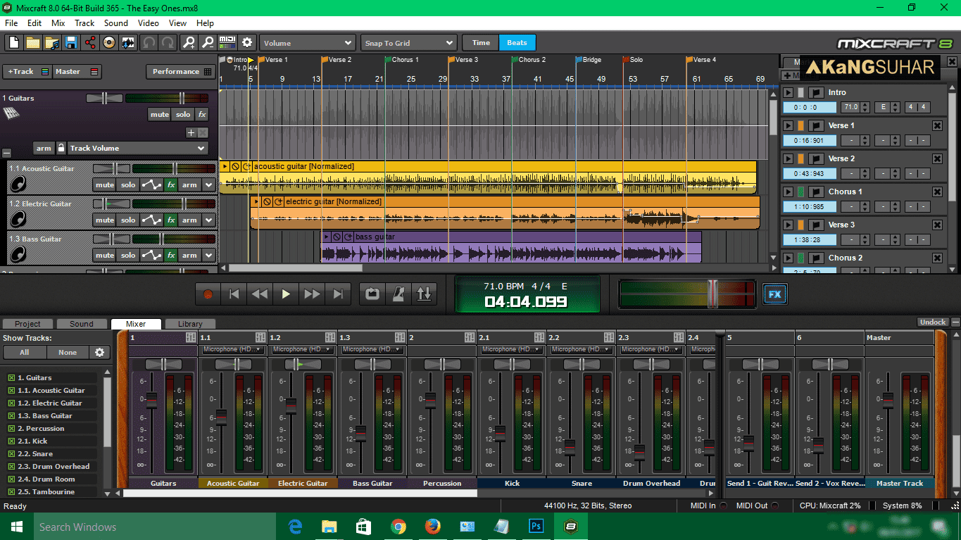 Download Acoustica Mixcraft 8.0 Build 365 Full Version