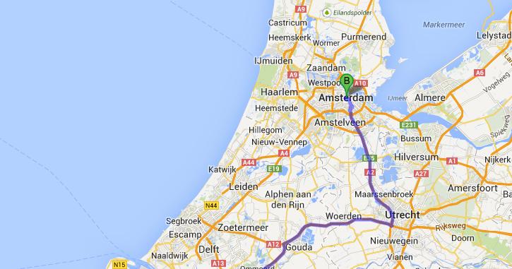 Photobrook Photography: Driving to Amsterdam. Gaasperplas ...