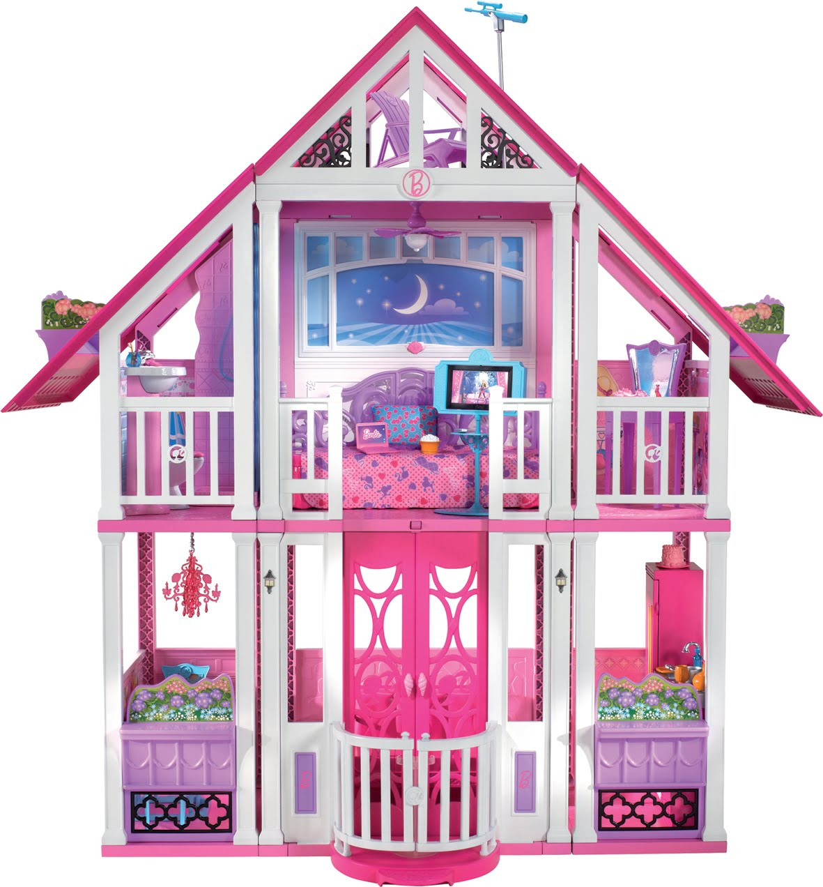 dejuguetes supercasa de barbie. Black Bedroom Furniture Sets. Home Design Ideas