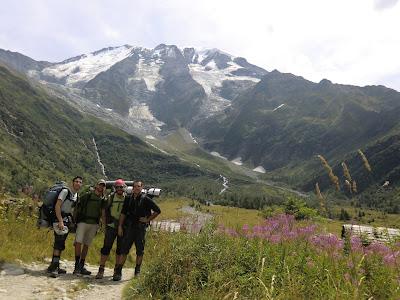 Glaciar de Miaje Tour del Mont Blanc