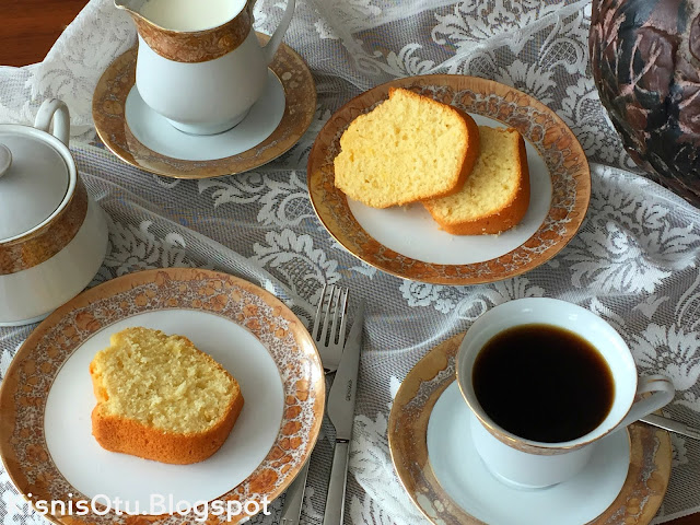 Limonlu Kek Tarifi,  Kişniş Otu, Çay, Saati, Pasta, Tatlı, İkram,