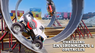Monster Truck Racing v1.5.0 Apk + Mod(coins/fuel) + Data android