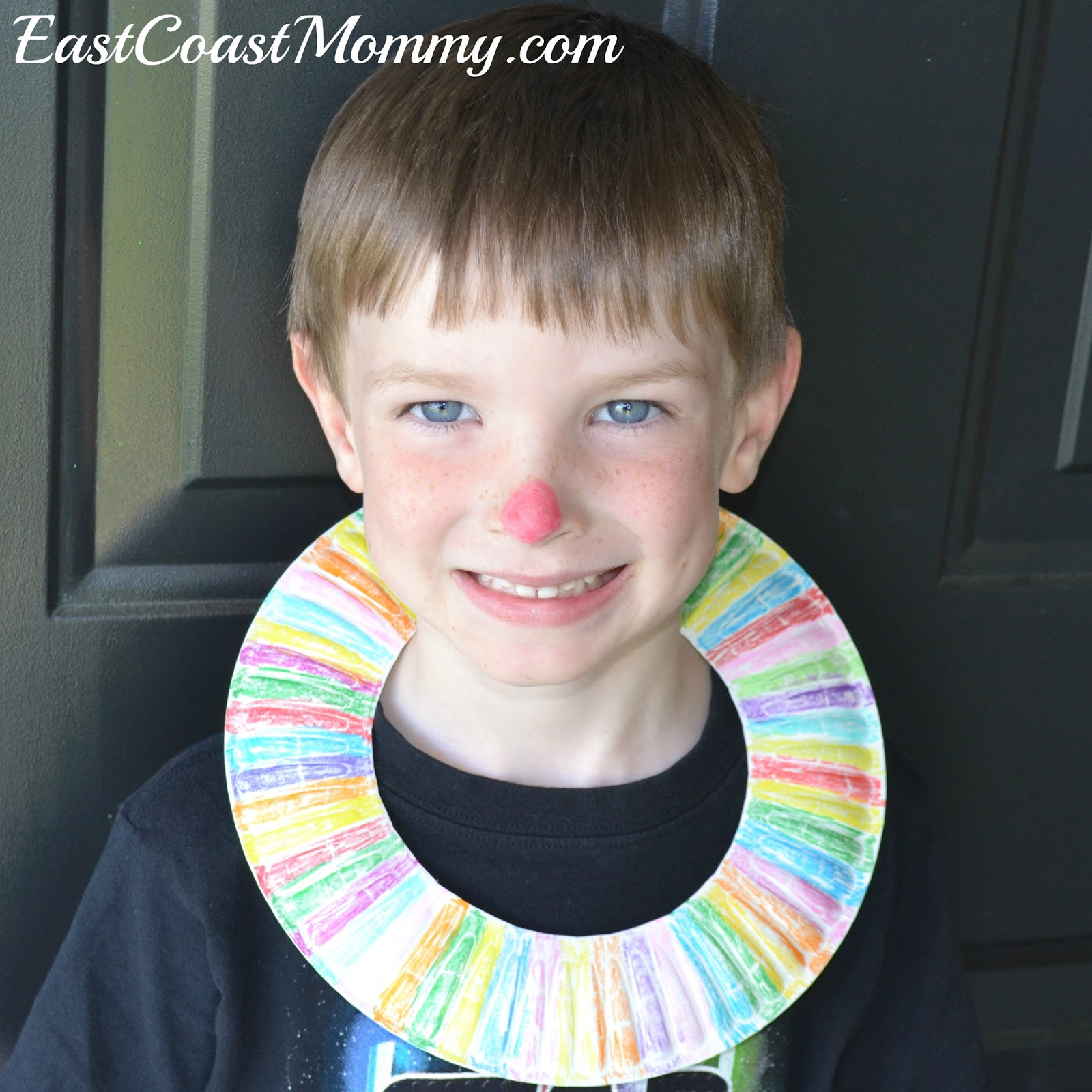 ... a paper plate color it and cut a slit in the back. I love how easy and inexpensive this craft is and I guarantee your little ones will love it too!  sc 1 st  East Coast Mommy & East Coast Mommy: Circus Crafts... with free printable templates