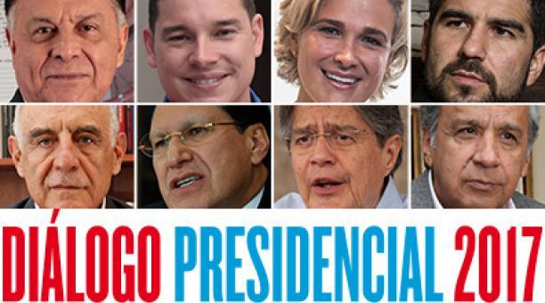 debate presidencial ecuador 2017