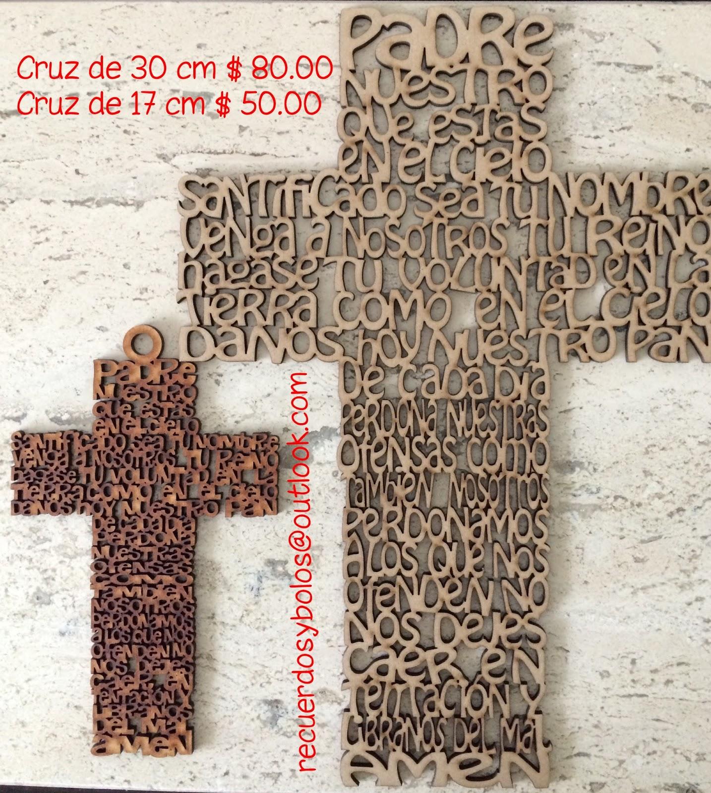Bolos Y Recuerdos Para Bautizo Y Primera Comunion Cruces