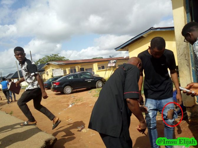 IMSU Goes Tough On Indecent Dressing; See What Was Done To A Defaulting Student.