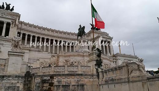 Plaza Venezia en Roma