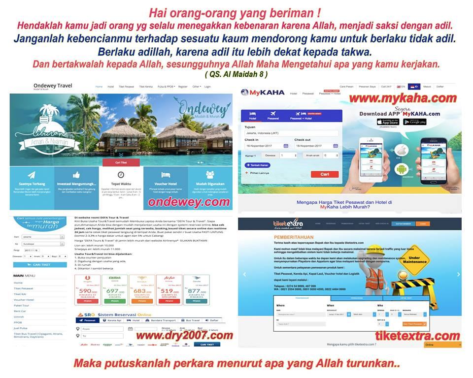 Marak Boikot Traveloka, Berikut Aplikasi Pemesanan Tiket