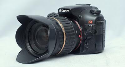 Jual Sony SLT A57 Fullset - Kamera Second