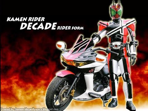 Kamen rider decade 11-16 [sub indo].