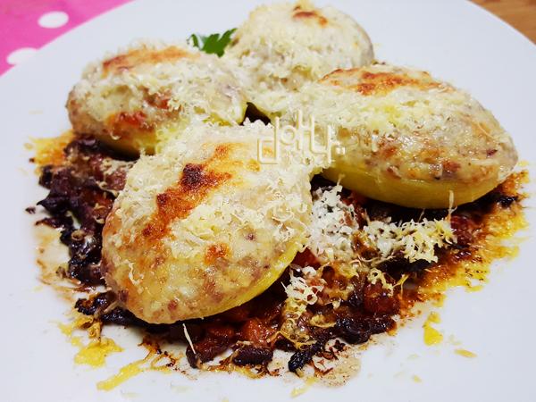 Patatas rellenas #cocinadeaprovechamiento