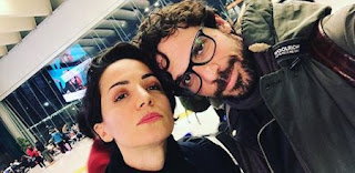 Francesco Montanari moglie Andrea Delogu