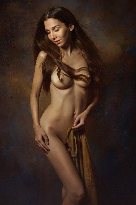 Evgeny Loza 500px arte fotografia mulheres modelos sensual surreal nudez artística pinturas clássicas renascentistas